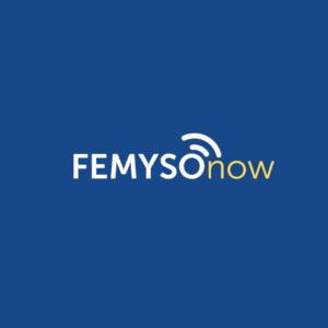FEMYSOnow blue logo
